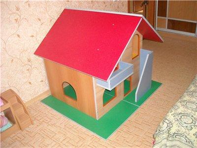 кукольный домик чертеж.