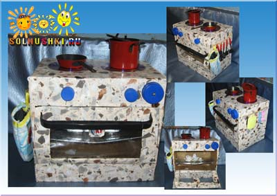 Газовая плита как сделать