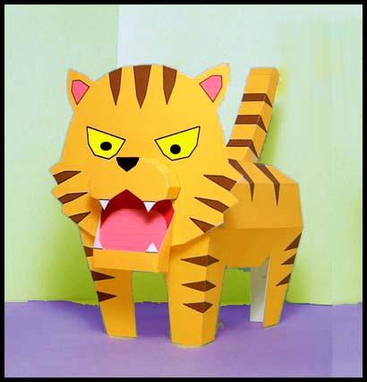 Такого тигра очень просто
