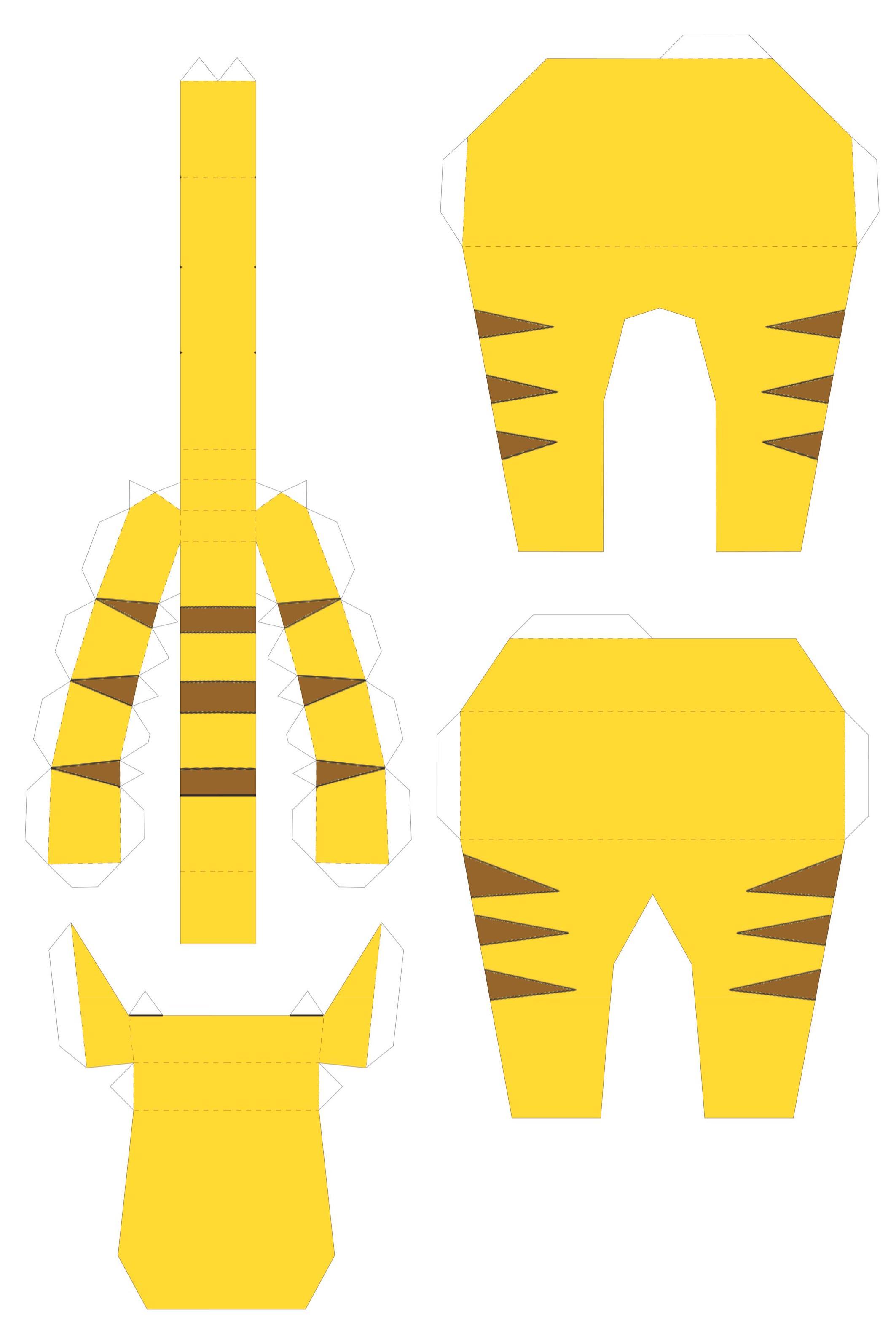 Как сделать тигра из бумаги своими руками? Вечные вопросы 25