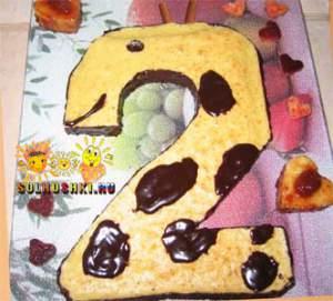 """Торт """"Жираф"""""""