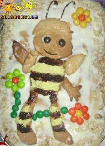 """Торт """"Пчелёнок"""""""