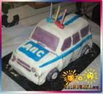 """Торт """"Машинка"""", милиция"""