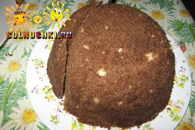 Кекс из микроволновки (Базовый рецепт)