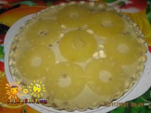 Торт творожный с желе
