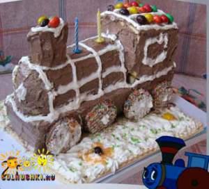 """Торт """"Паровозик"""""""